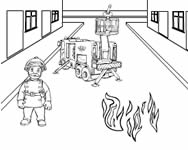 Fireman Sam make a picture j�t�k